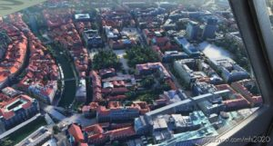 Ljubljana City Centre for Microsoft Flight Simulator 2020