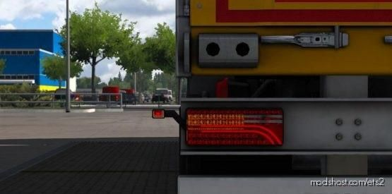 AR 1080 Brand NEW LED Tail Light For SCS BOX OWN Trailer V [1.38] for Euro Truck Simulator 2