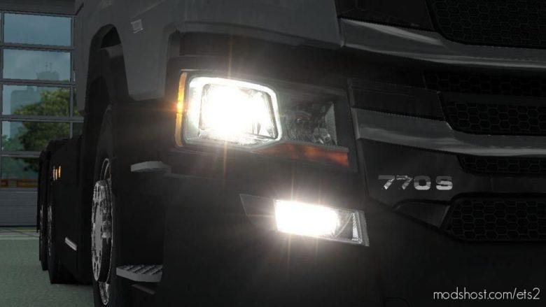 Scania 770S V8 Badge + Engine [1.38.X] for Euro Truck Simulator 2