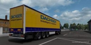 Dachser Skin Pack For Mercedes Actros MP4 And Trailer By Tigris for Euro Truck Simulator 2