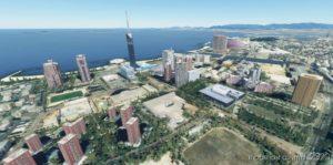 Fukuoka Japan for Microsoft Flight Simulator 2020