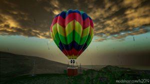 HOT AIR Balloon for Farming Simulator 19