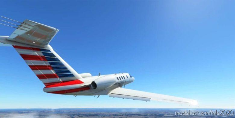 American Eagle CJ4 for Microsoft Flight Simulator 2020