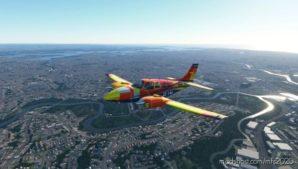 "Beechcraft Baron G58 ""Harlequin"" for Microsoft Flight Simulator 2020"