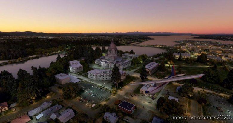 Washington State Capitol (Olympia) V0.1.0 for Microsoft Flight Simulator 2020