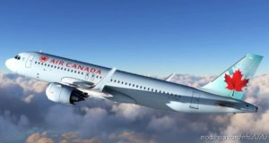 [8K Livery] AIR Canada A320 NEO ICE Blue Livery for Microsoft Flight Simulator 2020