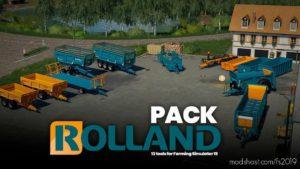 Rolland Pack V1.0.0.2 for Farming Simulator 19