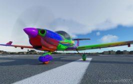 "Diamond Da40-Ng ""Harlequin"" for Microsoft Flight Simulator 2020"