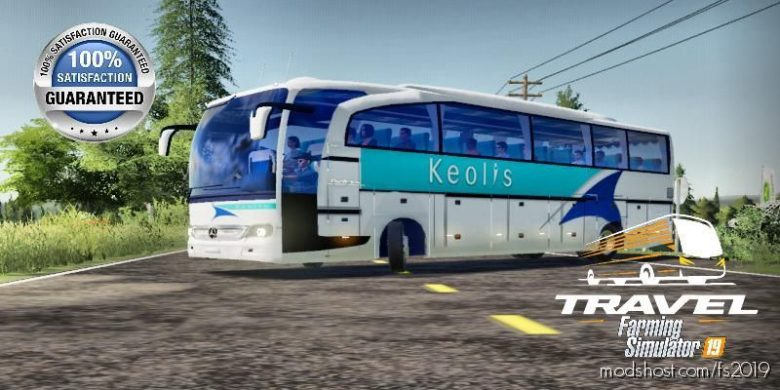 Keolis BUS V2.0 for Farming Simulator 19