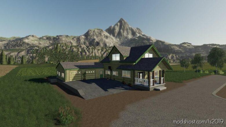 Lone OAK Farm House for Farming Simulator 19