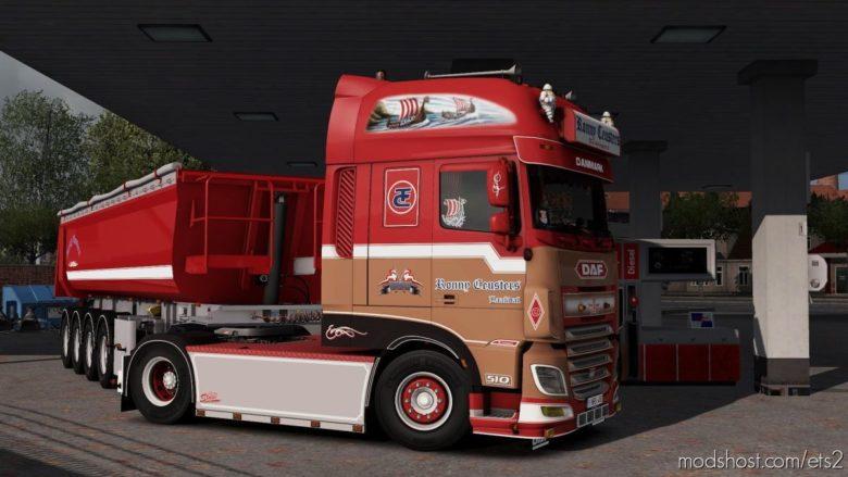 DAF & Trailer Ronny Ceusters [1.38] for Euro Truck Simulator 2