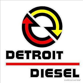 Detroit Diesel Series Engines V1.1 [1.38.X] for Euro Truck Simulator 2
