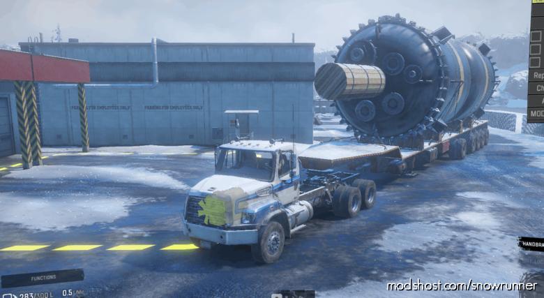 PTS Only Giant 64000 Liter Fuel Semitrailer for SnowRunner