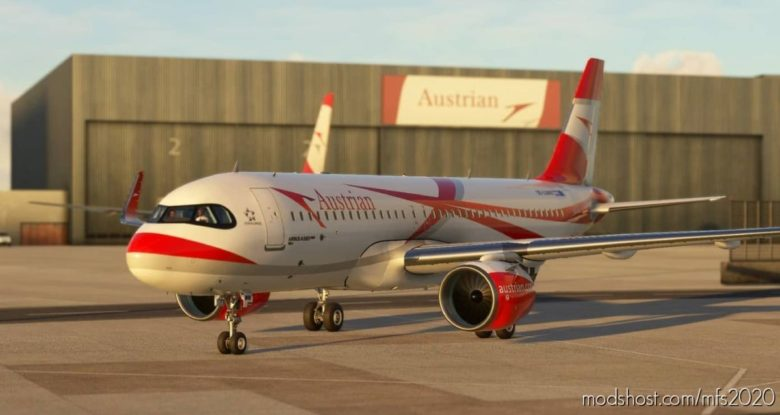 Austrian Airliner 8K for Microsoft Flight Simulator 2020