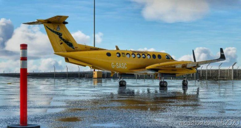 Scottish Ambulance Service Beechcraft King AIR350 for Microsoft Flight Simulator 2020