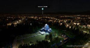 Matsumoto Castle for Microsoft Flight Simulator 2020