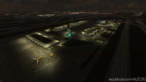 Chicago O'Hare South East Cargo Ramp Lighting Improvement for Microsoft Flight Simulator 2020