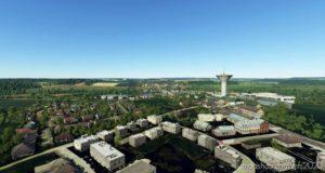 Luxembourg VFR REF Points And Kirchberg V0.2 for Microsoft Flight Simulator 2020
