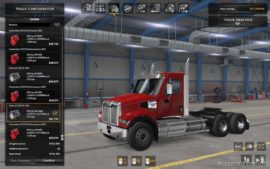 SCS Western Star 49X Original Engines Sound Update for American Truck Simulator