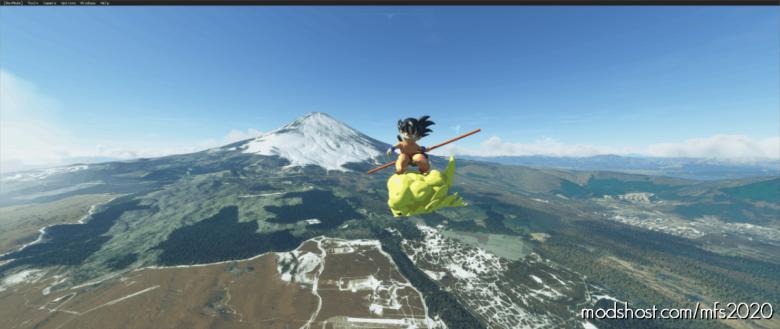 Goku'S Flying Nimbus for Microsoft Flight Simulator 2020