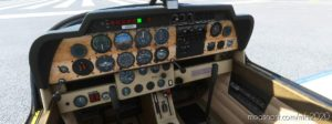 Robin DR400 Panel File for Microsoft Flight Simulator 2020