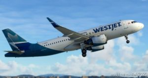 [8K Livery] Westjet NEW Livery For A320 NEO for Microsoft Flight Simulator 2020