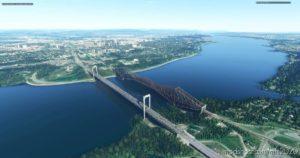 Quebec City Bridges for Microsoft Flight Simulator 2020