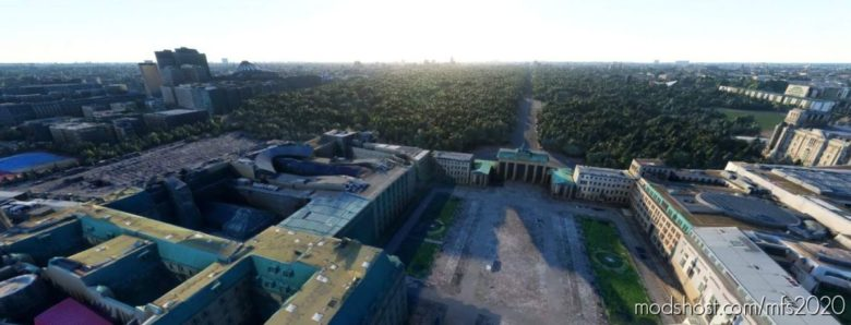 Berlin Brandenburg Gate FIX for Microsoft Flight Simulator 2020