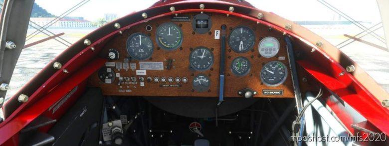 Pitts S2S Panel File for Microsoft Flight Simulator 2020