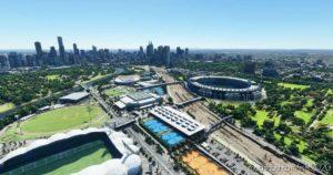 Melbourne Australia Cityscape V2.0 for Microsoft Flight Simulator 2020