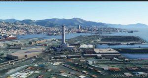 Lanterna – Genoa Lighthouse Near Limj for Microsoft Flight Simulator 2020