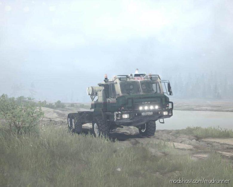 DAN 96320 (BAZ-69092) Truck V1.01 for MudRunner