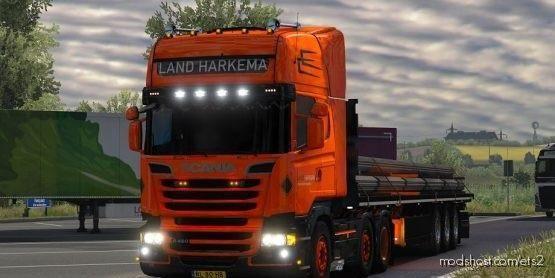 Fred R2012 Land Harkema Skin for Euro Truck Simulator 2