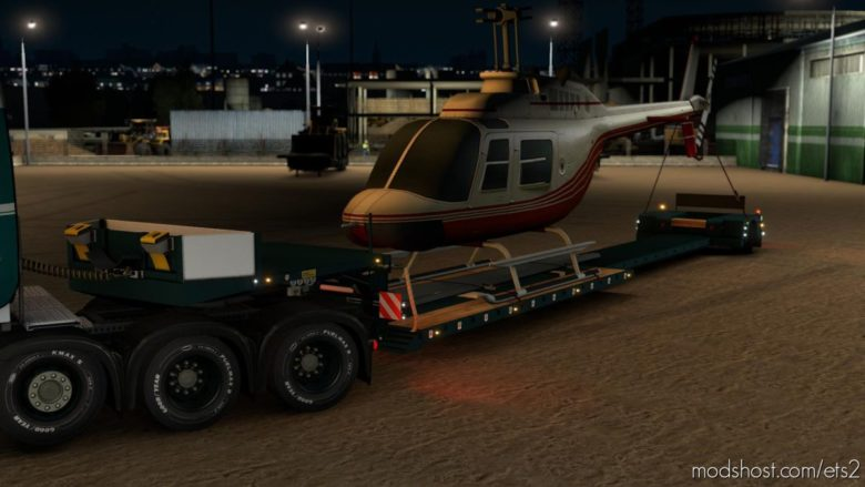 Doll Vario 1Axle V1.1 [1.38.X] for Euro Truck Simulator 2