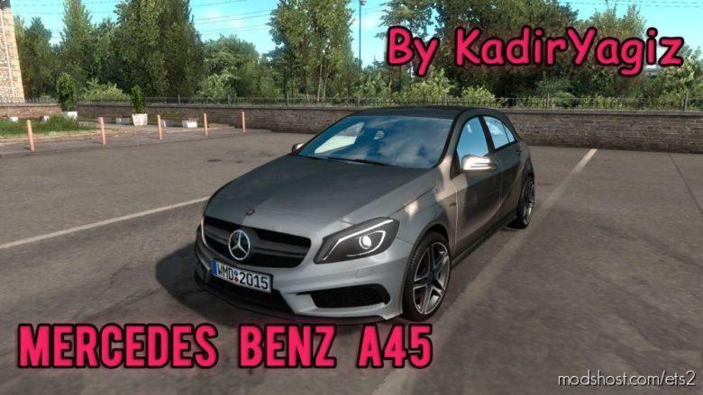 Mercedes Benz A45 [1.38] for Euro Truck Simulator 2
