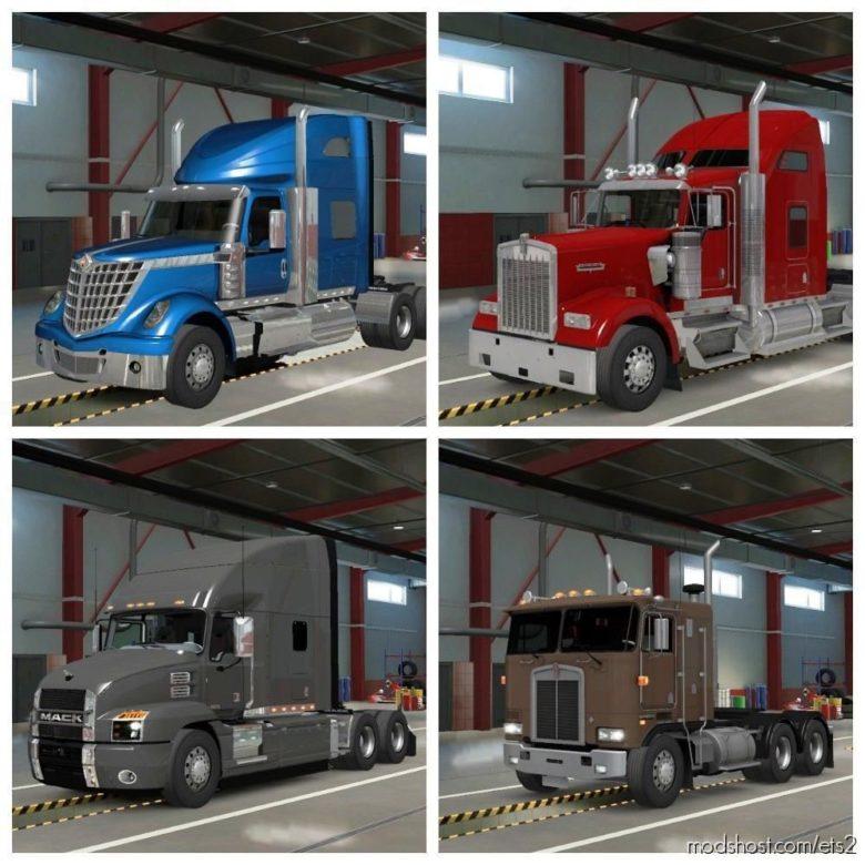 American Trucks For ETS2 [1.38] for Euro Truck Simulator 2