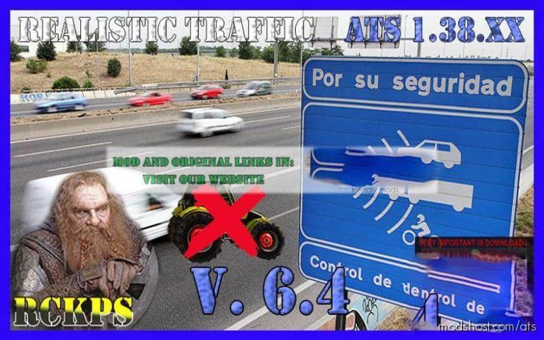 Realistic Traffic V6.4 [1.38.X] for American Truck Simulator
