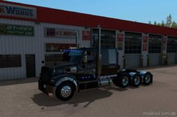 SCS Westernstar 49X Custom Truck [1.38] for American Truck Simulator