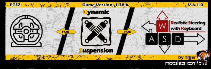 Dynamic Suspension V6 for Euro Truck Simulator 2