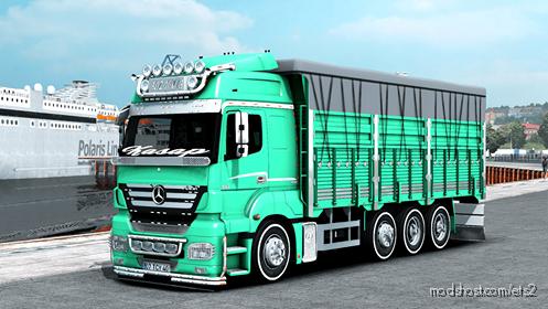 Mercedes Axor 3240 Kaan Bozdemir for Euro Truck Simulator 2