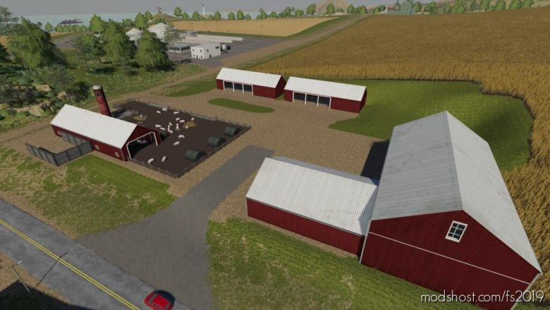 Lone OAK PIG Farm Pack V1.1 for Farming Simulator 19