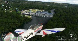 Chenonceau Castle France for Microsoft Flight Simulator 2020