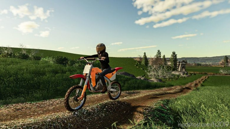 Motocross Dirt Bike for Farming Simulator 19