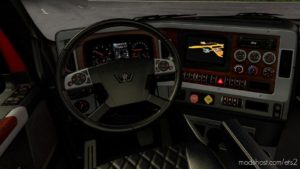 Dark Interior For Western Star 49X for Euro Truck Simulator 2