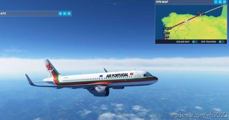 Retro TAP 1 8K for Microsoft Flight Simulator 2020