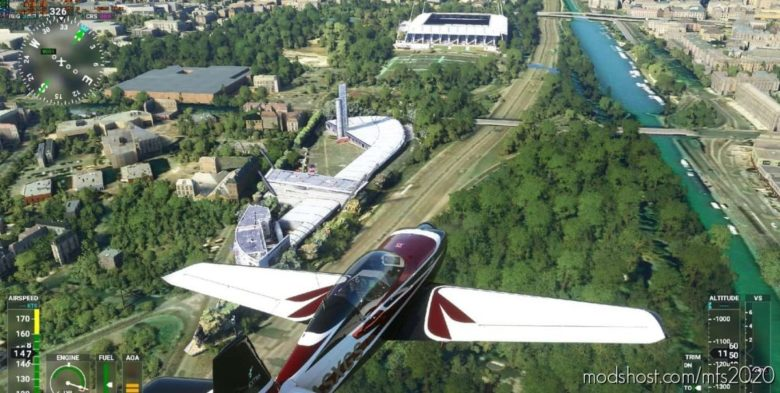 Reims Missing Batiments for Microsoft Flight Simulator 2020