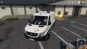 Mercedes Sprinter 2014 Bauhof-Stani V2.0 for Farming Simulator 19