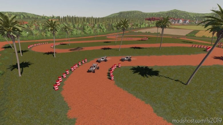 Racetrack Tire Pile for Farming Simulator 19