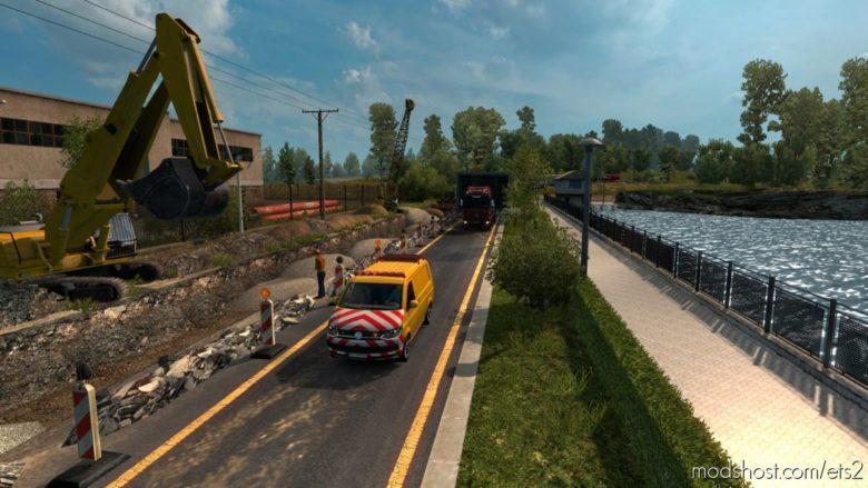 Poland Rebuilding V2.4.3 [1.38.X] for Euro Truck Simulator 2