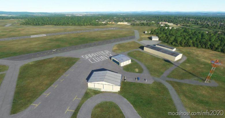 Saratoga County Airport – 5B2 V0.2 for Microsoft Flight Simulator 2020